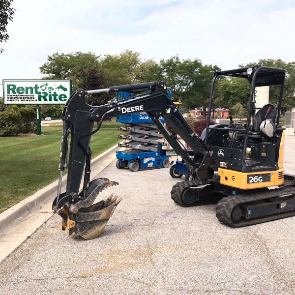 Rent Equipment in Central Michigan